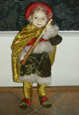 Scandanavian Style Christmas Elf Figure Ornament
