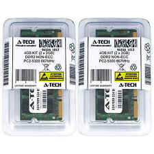 Atech 4GB Kit Lot 2x 2GB PC2-5300 5300 DDR2 DDR-2 667mhz 667 Laptop Memory RAM