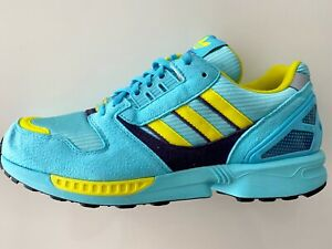 Adidas Originals ZX 8000 CLEAR AQUA TORSION 12/2019 EUR 43 1/3 US 9,5 UK 9 ECHT