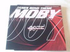 MOBY - JAMES BOND THEME - UK CD SINGLE