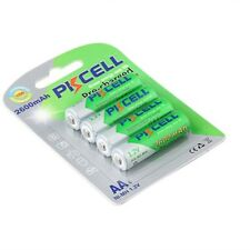 4x AA Rechargeable Batteries 2600mAh 1.2V Ni-MH Double A LSD Battery PKCELL