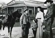 """DANA ANDREWS DONNA REED """"TROIS HEURES POUR TUER"""" (THREE HOURS TO KILL) PHOTO CM"""