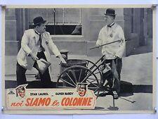 NOI SIAMO LE COLONNE di Alfred J. Goulding fotobusta originale 1940