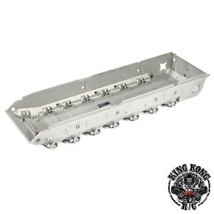 Metal Leopard Tank Lower Hull/Chassis for Tamiya 56020 1/16 Leopard 2 A6 RC Tank