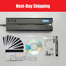 MSR605X Magnetic Stripe Card Reader Writer Encoder Credit Magstrip MSR206 MSR605