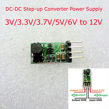Mini DC-DC Boost Step-up Converter 3V/3.3V/3.7V/5V/6V to 12V Power Supply Module