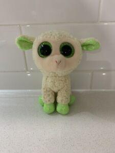 """LaLa Sheep 6"""" 15cm Ty Beanie Boo No Tag"""