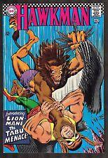 Hawkman #20 ~ vs the Lion Man / Tabu Menace ~~ 1967 (8.0) WH