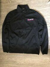 T-Mobile Data First Windbreaker Black Jacket Large Used