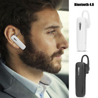 Bluetooth Wireless Hands-Free Stereo Headset Earphone Mic for iPhone Samsung LG