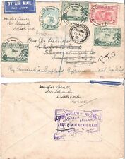 AUSTRALIA 1931 AIRMAIL TO ENGLAND COVER (JF)