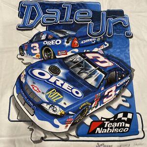 New Dale Earnhardt Jr #3 Oreo Shirt; Chase Authentics; Extra Large; Large Back