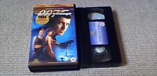 JAMES BOND 007 THE WORLD IS NOT ENOUGH MGM UK PAL VHS VIDEO 2000 Pierce Brosnan