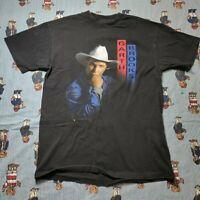 VTG 90s Garth Brooks Thing Called Life Graphic T Shirt MEDIUM Single Stitch USA
