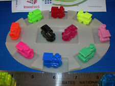 MEXICAN TRAIN MARKERS ASSORTED (8 PACK) 6 SOLIDS 2 ACRYLICS FREE SHIPPING
