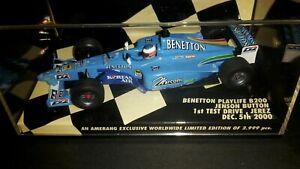 1/43 Jenson Button Benetton Playlife B200 First Test Drive🏁 Minichamps 2000 Ltd