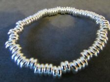 New good condition Silver Bling Stretch Bracelet