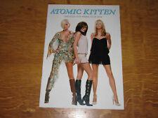 ATOMIC KITTEN - 2004 OFFICIAL TOUR PROGRAMME                             (PROMO)