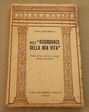 """1959c = DALLE """"RICORDANZE DELLA MIA VITA"""" =LUIGI SETTEMBRINI.C.SIGNORELLI.ETNA"""
