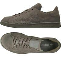 adidas Originals Mens Stan Smith Primeknit Trainers Khaki.Various size