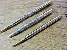 Vintage Sterling Silver Gold Trim Parker Cisele Mechanical Pencil Parts Lot USA