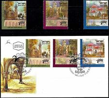 Israel 2000 Stamps + FDC PILGRIMS - PILGRIMAGE TO THE HOLYLAND. MNH.(Very Nice).