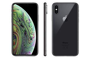 Apple iPhone XS Smartphone, Space Grau 64GB (ohne SIM-Lock), + orig. Hülle (neu)