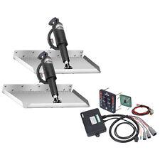 "Lenco 12"" x 9"" Edgemount Trim Tab Kit w/ LED Indicator Switch Kit 12V"