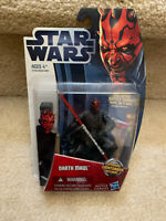 "Star Wars Darth Maul Figure Spinning Lightsaber 3.75"" Action Figure"