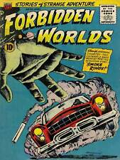 SUPER HERO COVER ACG BOOK FORBIDDEN WORLDS 52 VINTAGE COMIC POSTER PRINT 1391PY