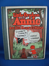 LITTLE ORPHAN ANNIE 3 THE HAUNTED HOUSE HC 1928