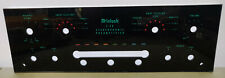 Mcintosh C28 Preamplifier Faceplate Glass Vintage