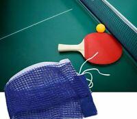 Tischtennis Ersatznetz Tischtennisnetz blau