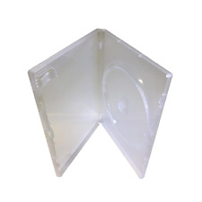 AMARAY SUPER CLEAR DVD CASE 14MM THICK (STANDARD SIZE) BOX OF 100 CASES