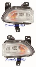 FITS JEEP RENEGADE 2015-2017 TURN SIGNAL LIGHTS LAMPS LEFT RIGHT PAIR SET W/BULB