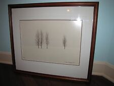 "Thomas Mangelsen ""Winter Aspens"" Wyoming Photo 14x20 47/950 Signed SOLD OUT"