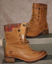 NEW TIMBERLAND WOMEN's WHITTEMORE WOOL ACCENT LACE-UP BOOTS US 9.5