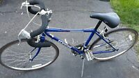 "Schwinn Caliente Racing Vintage 10 Speed 24""Wheel Blue Bicycle in Good Shape ."
