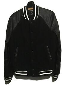 Raf Simons X Fred Perry Varsity Stadium Jacket