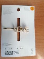 Horquilla Pinza de Pelo Adorno de Cabellos con diamantes perlitas (H&M)