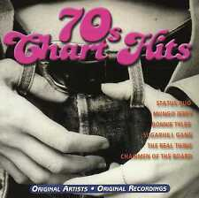 VARIOUS : 70's Chart Hits (2CD 1999) 30 TRAX!! *EXC COND* FREE!! UK 24-HR POST!!