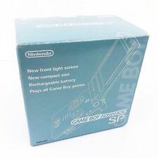 -game Boy Advance Sp Pearl Blau AGS-001 Nintendo System Japan Very Good