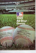 1969 All Star Game Program Bench Willie McCovey HR RFK