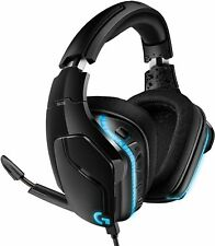 Logitech G635 Wired Gaming RGB Headset, 7.1 Surround Sound PRO-G Drivers USB