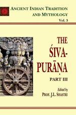 Siva Purana Pt. 3 (Aitm Vol. 3): Ancient Indian Tradition And Mythology .