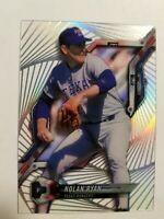 2018 Topps High Tek 4 Diagonal Pattern Nolan Ryan  #HT-NR HOF Texas Rangers D23