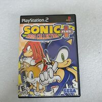 Sonic Mega Collection Plus ( Sony PlayStation 2 ) PS2 PS 2 the hedgehog 2 & 3