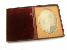 Daguerreoptypie Ambrotypie 2 Frauen antique antik 11,8 x 9,3 cm LOOK /19K