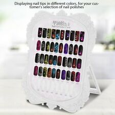 Nail Art Practice Display Stand False Nail Tip Holder Crystal Salon Practice