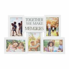 Collage Photo Frame With Metal Words - Memories